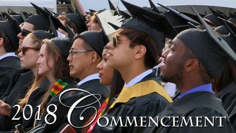 Highlights: UMass Amherst Undergraduate Commencement 2018