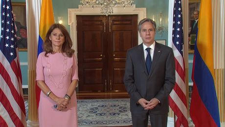 Secretary Blinken meets with Colombian Vice President and Foreign Minister Marta Lucia Ramirez