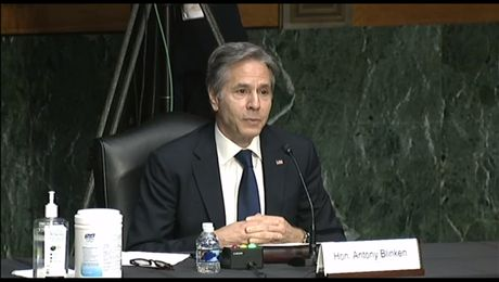 """Secretary Blinken testifies before the Senate Committee on Appropriations on """"A Review of the FY22 State Department Budget Request"""""""