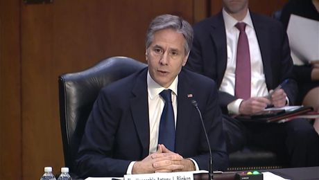 """Secretary Blinken testifies before the Senate Committee on Foreign Relations on """"Review of the FY 2022 State Department Budget Request."""""""