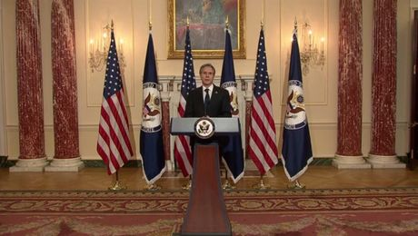 Secretary Blinken's speech on U.S. Foreign Policy.