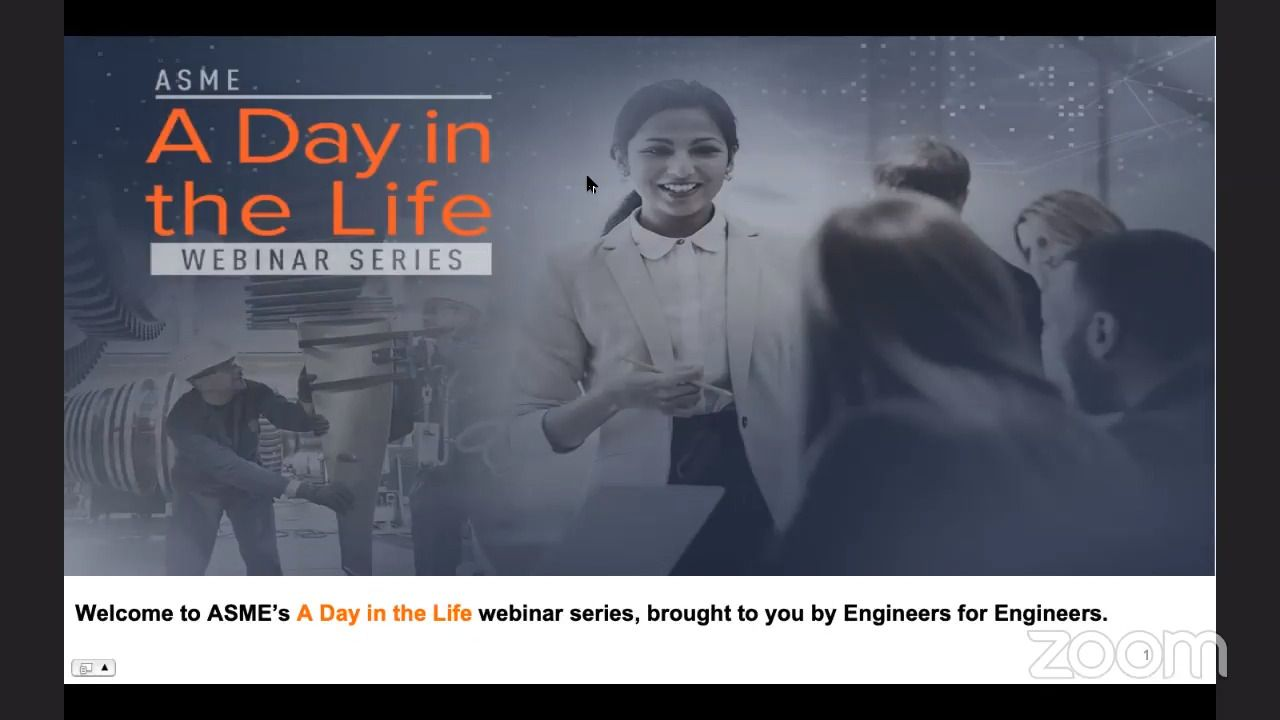 ASME Webinar Series - A Day In The Life of an Engineer Working at Aerojet