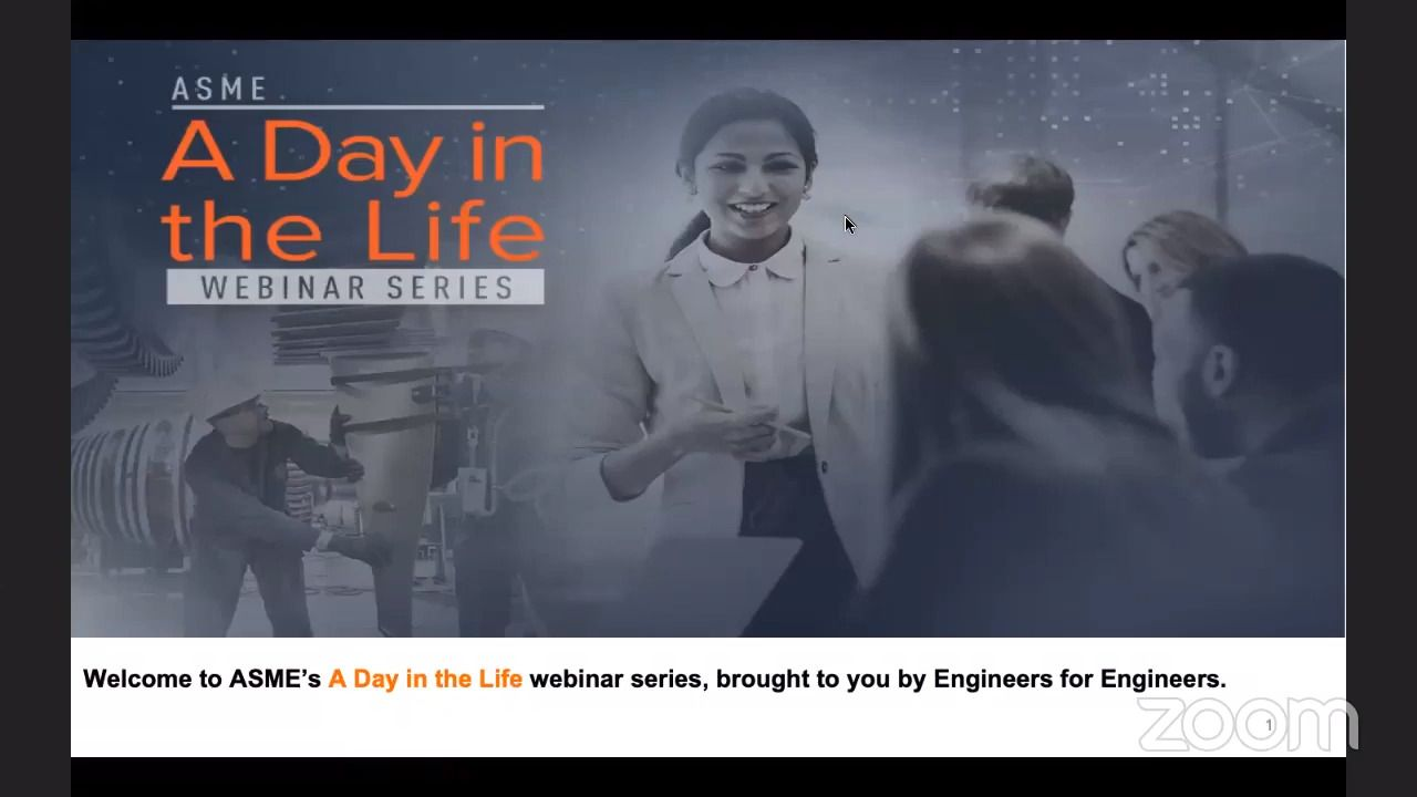 ASME Webinar Series - A Day In The Life of an Engineer Working at Boeing