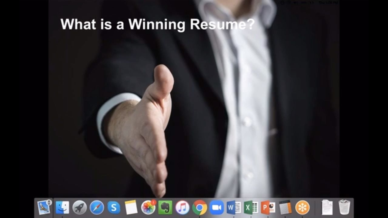 How to Prepare a Winning Resume