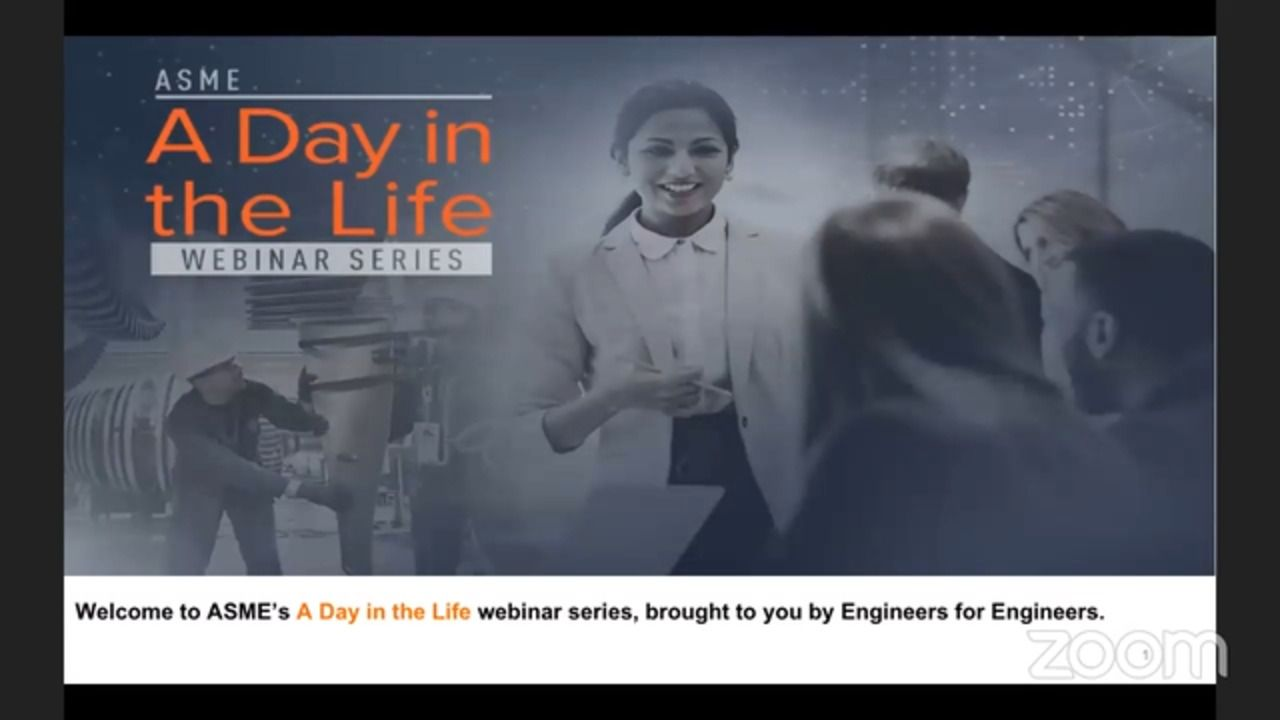 ASME Webinar Series - A Day In The Life of an Engineer Working at Raytheon