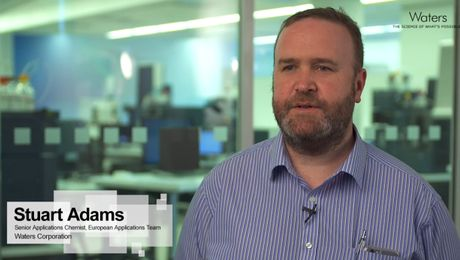 Stuart Adams, #AnalyticalFoodies at Waters