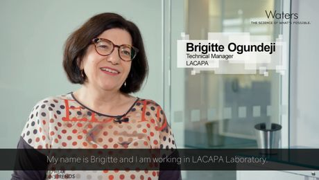 Brigitte Ogundeji, LACAPA Laboratory - Overcoming  obstacles with Vion IMS QTof and UNIFI
