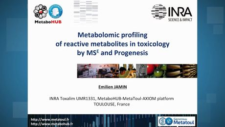 Metabolic Profiling of Reactive Metabolites in Toxicology by MSE and Progenesis QI