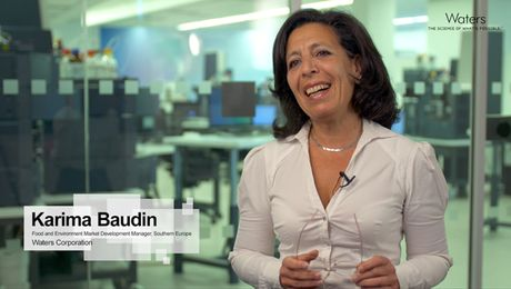 Karima Baudin, #AnalyticalFoodies at Waters