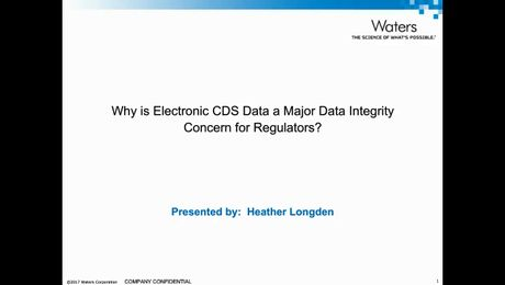 Webinar| Why is Electronic CDS Data a Major Data Integrity Concern for Regulators?