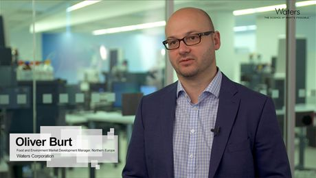 Oliver Burt, #AnalyticalFoodies at Waters