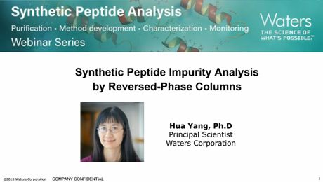 On Demand Webinar | Synthetic Peptide Impurity Analysis by Reversed-Phase Columns