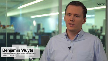 Benjamin Wuyts, #AnalyticalFoodies at Waters