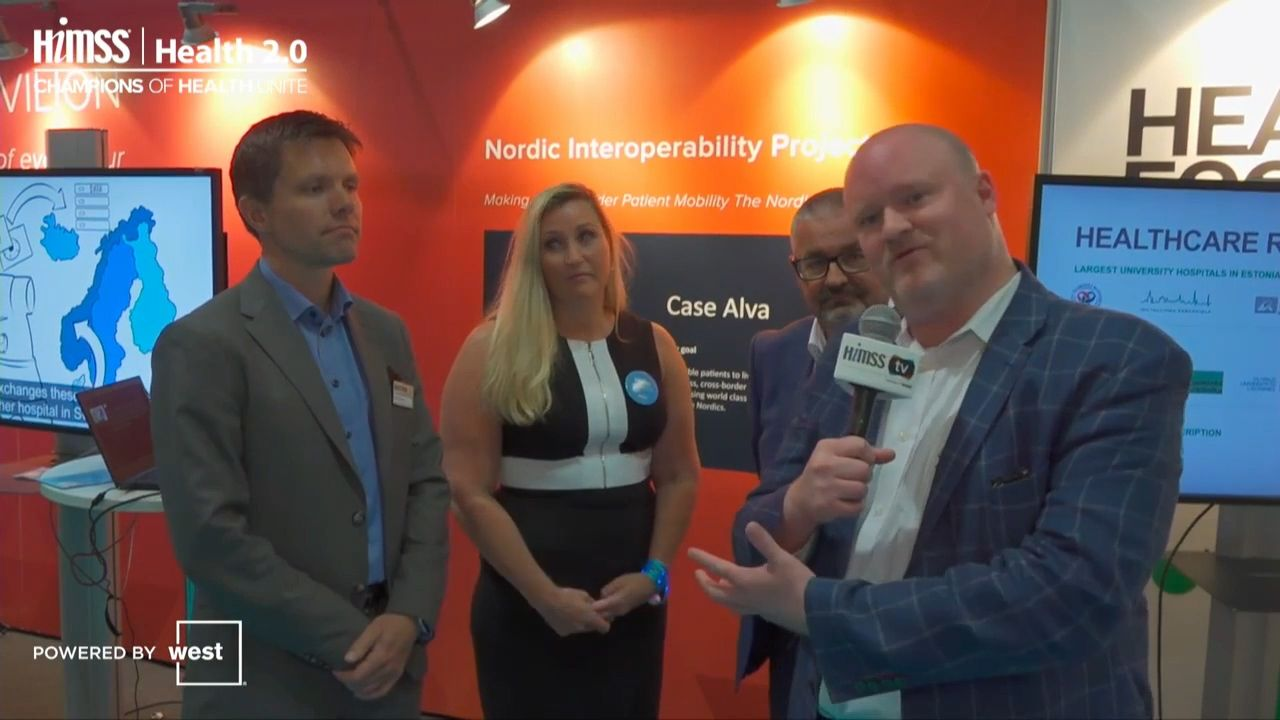 Nordic Interoperability Project: Supporting the patient journey