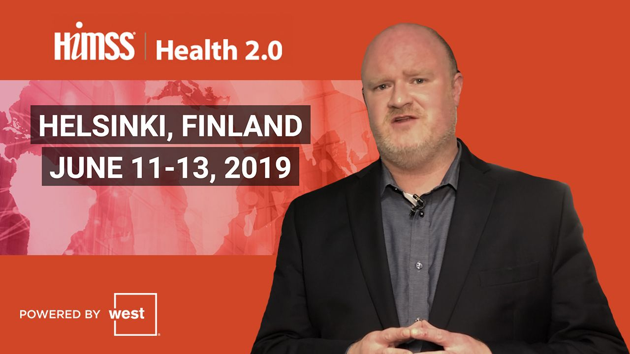 Join us for the live HIMSS TV broadcasting from Helsinki