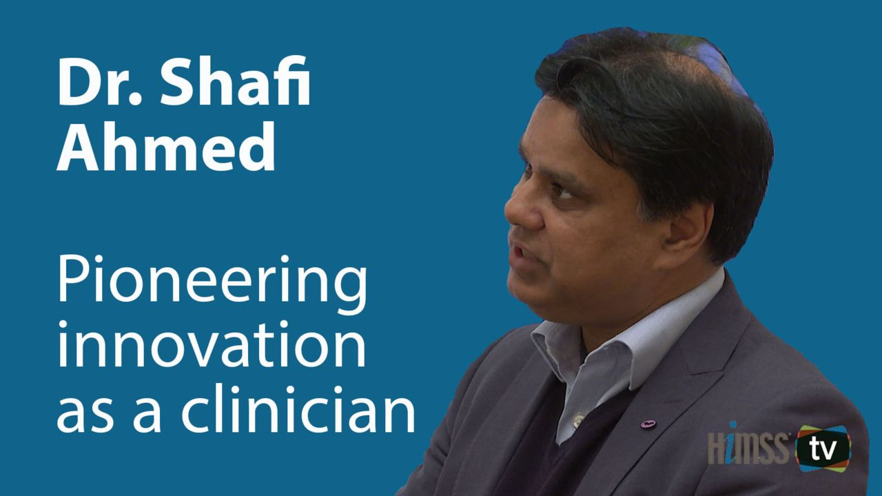 Pioneering innovation as a clinician