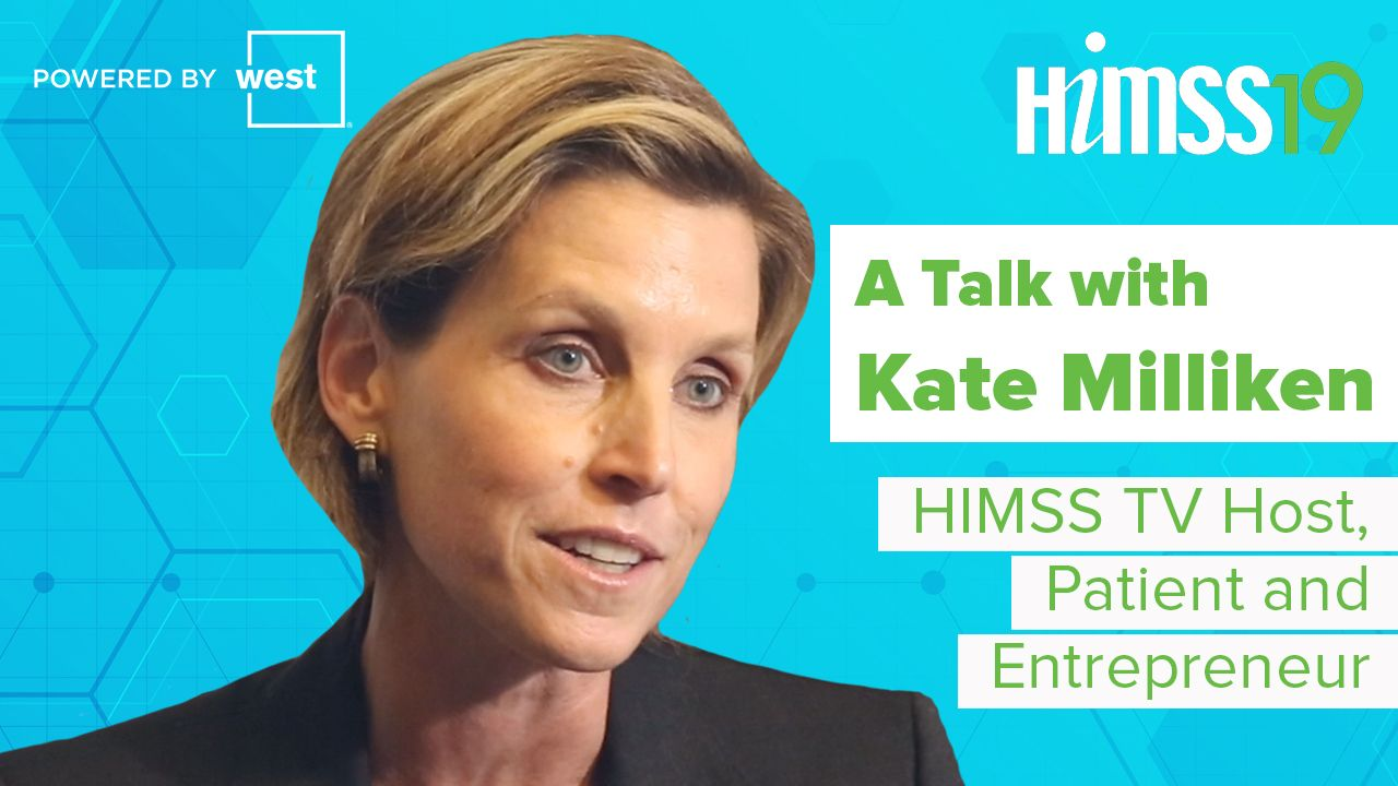 Meet Kate Milliken: Host of HIMSS TV at HIMSS19