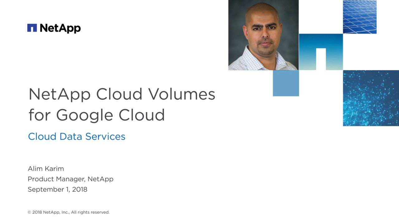 Implementing Scalable NoOps File Service with NetApp Cloud Volumes on Google Cloud