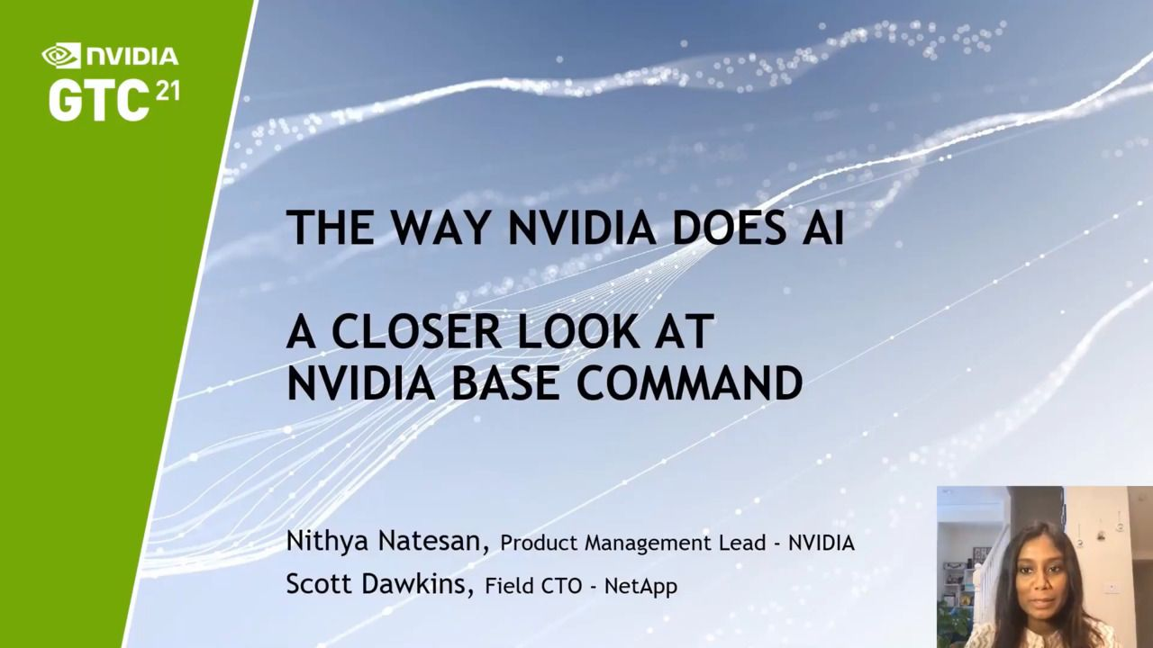 The Way NVIDIA Does AI - A Closer Look at NVIDIA Base Command