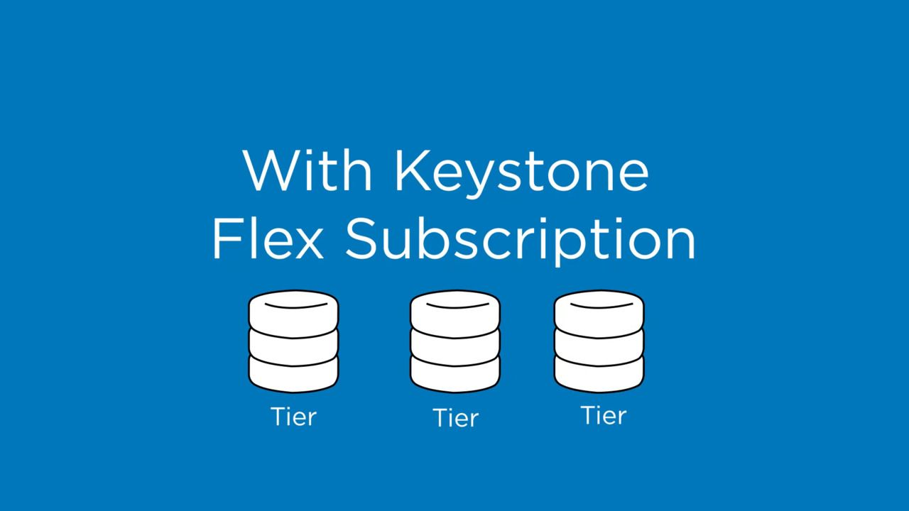 NetApp Keystone Flex Subscription is a Pay-as-you-Grow Service Offering
