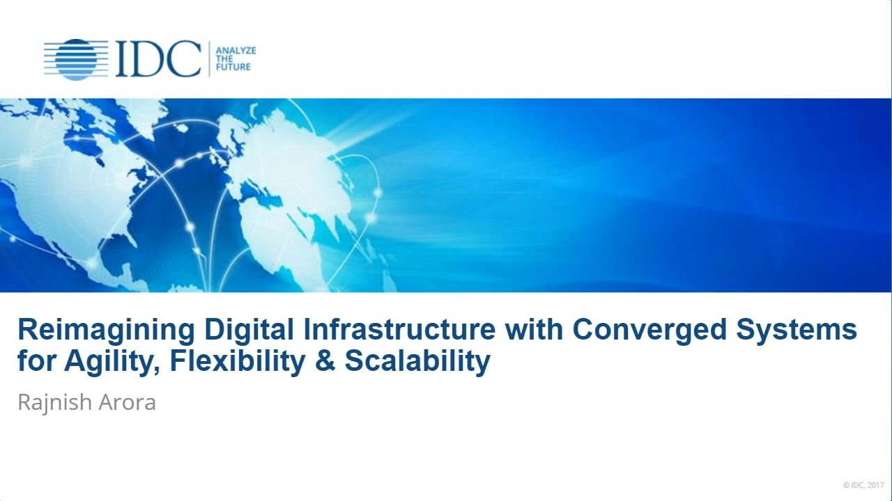 Reimagining Digital Infrastructure with Converged Systems