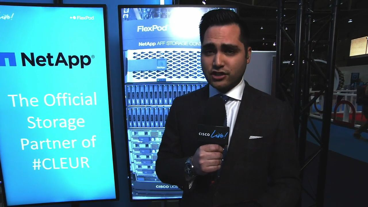 Cisco Live Runs on FlexPod, a Datacenter Solution from Cisco and NetApp