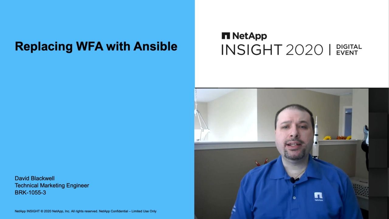 Replacing WFA with Ansible
