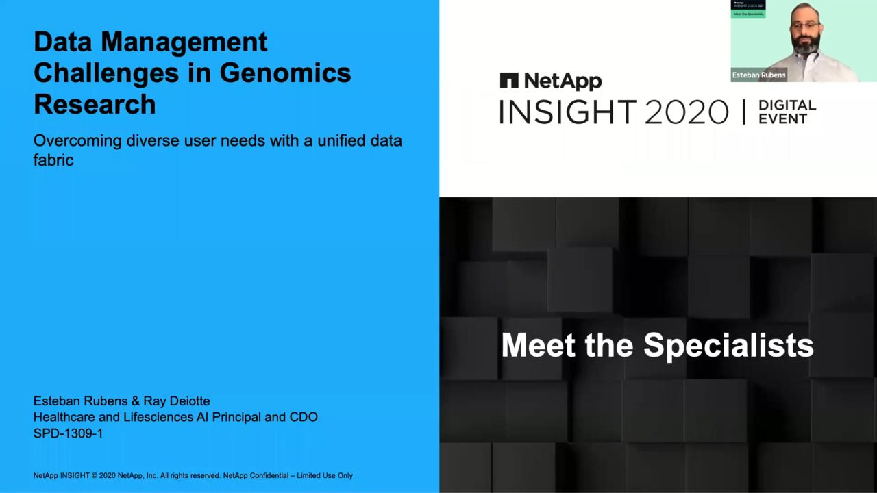 Data Management Challenges in Genomics Research