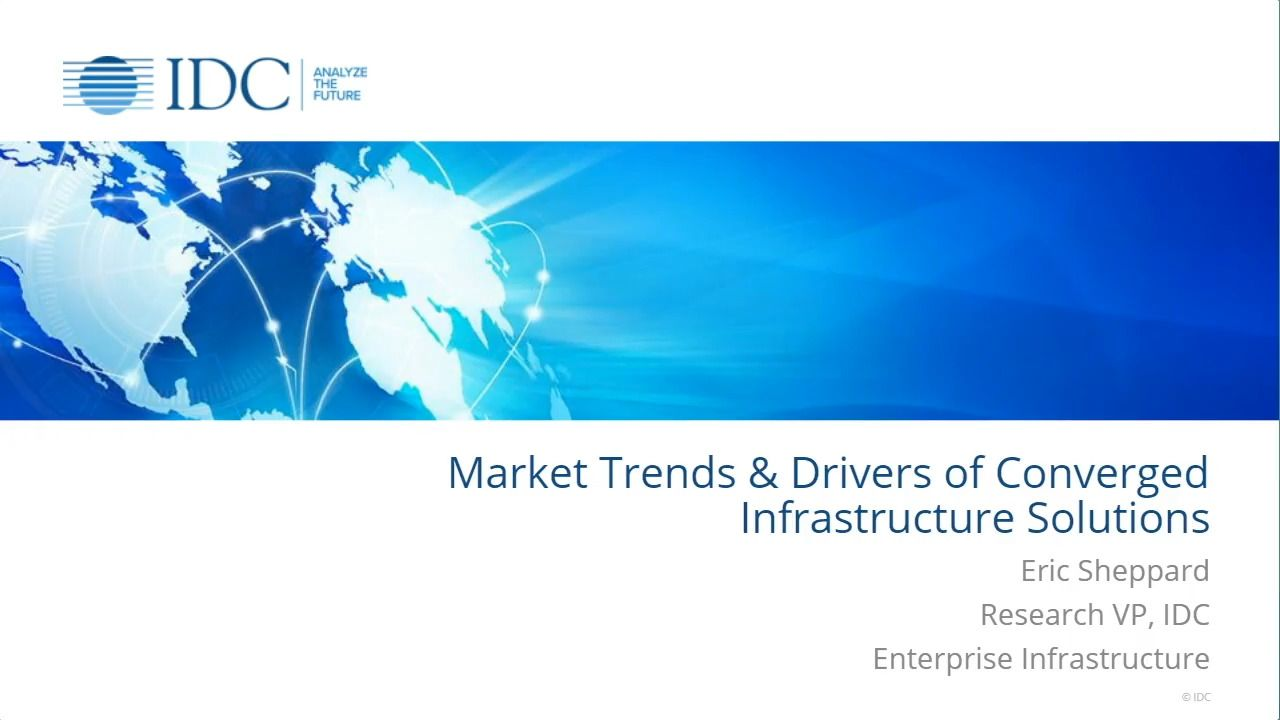 Market Trends and Drivers of Converged Infrastructure Solutions