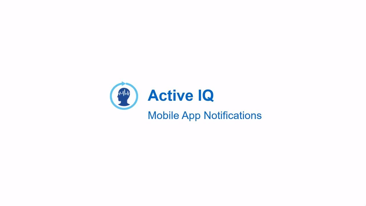NetApp Active IQ Mobile App Notifications