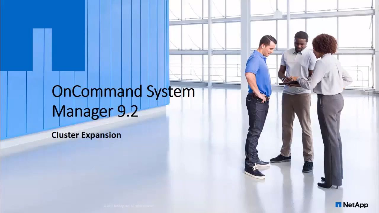Cluster Expansion in OnCommand System Manager 9.2