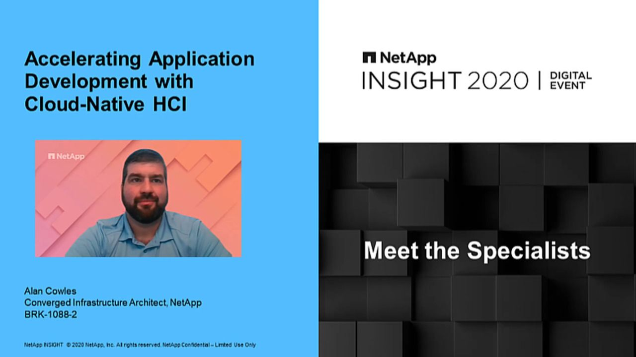 Accelerating Application Development with Cloud-Native HCI