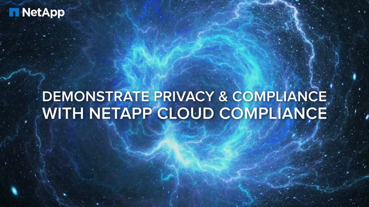 NetApp Cloud Compliance - Automated Privacy and Compliance Controls for Amazon S3 Buckets