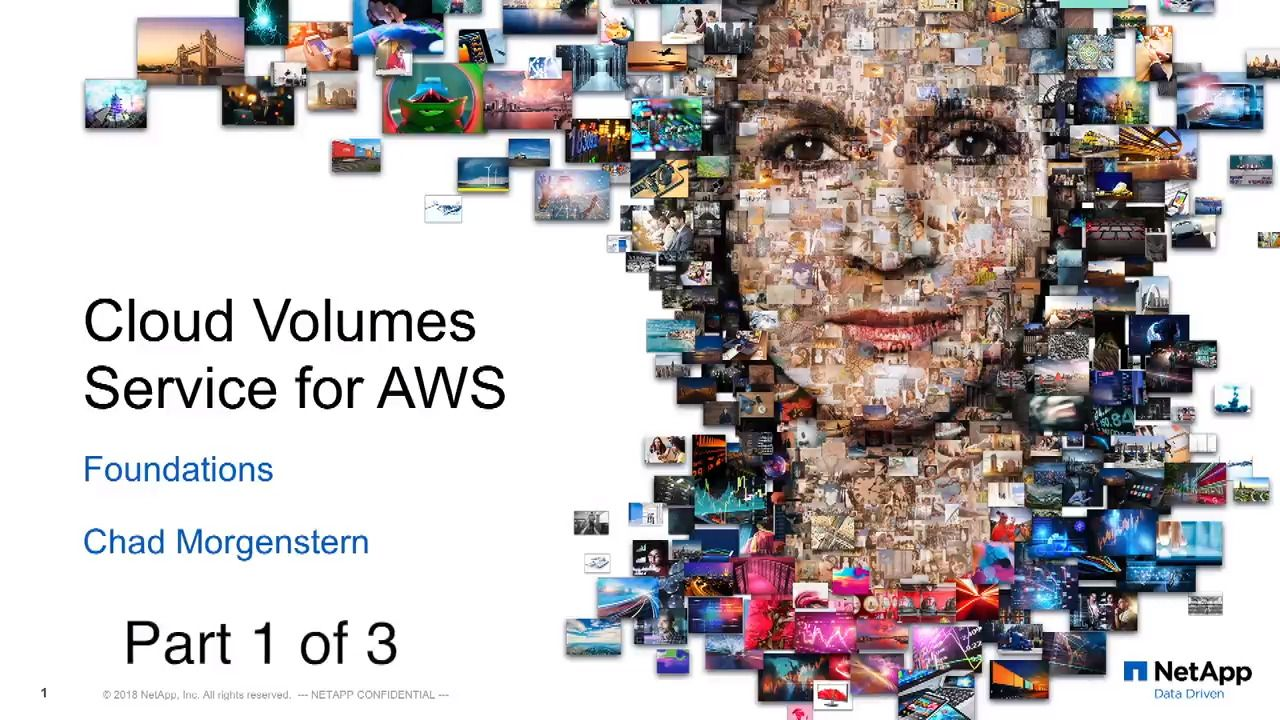 Cloud Volumes Service for AWS Foundations: Part 1