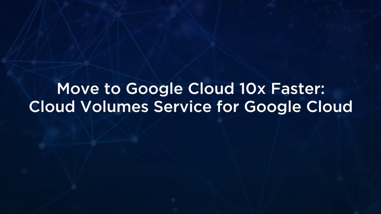 How to Move to Google Cloud 10x Faster