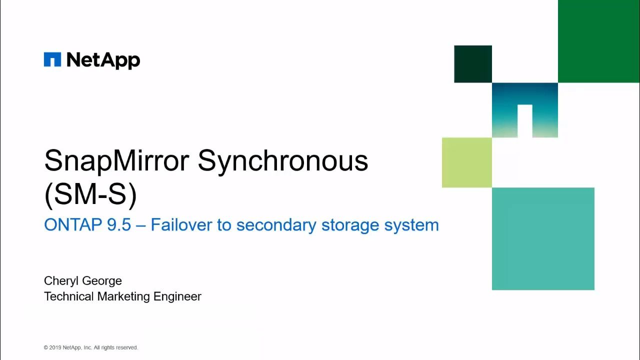 Failover to Destination Volume of SnapMirror Synchronous Relationship