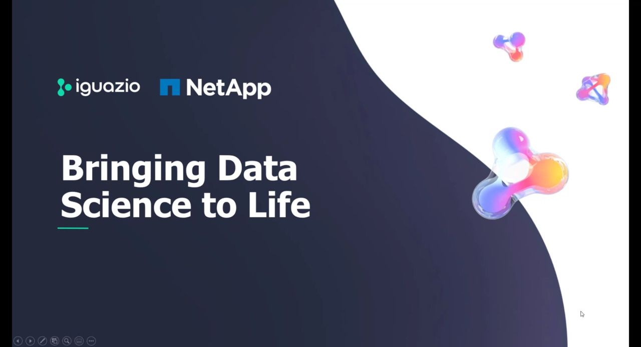 Bring Data Science to Life with NetApp and Iguazio