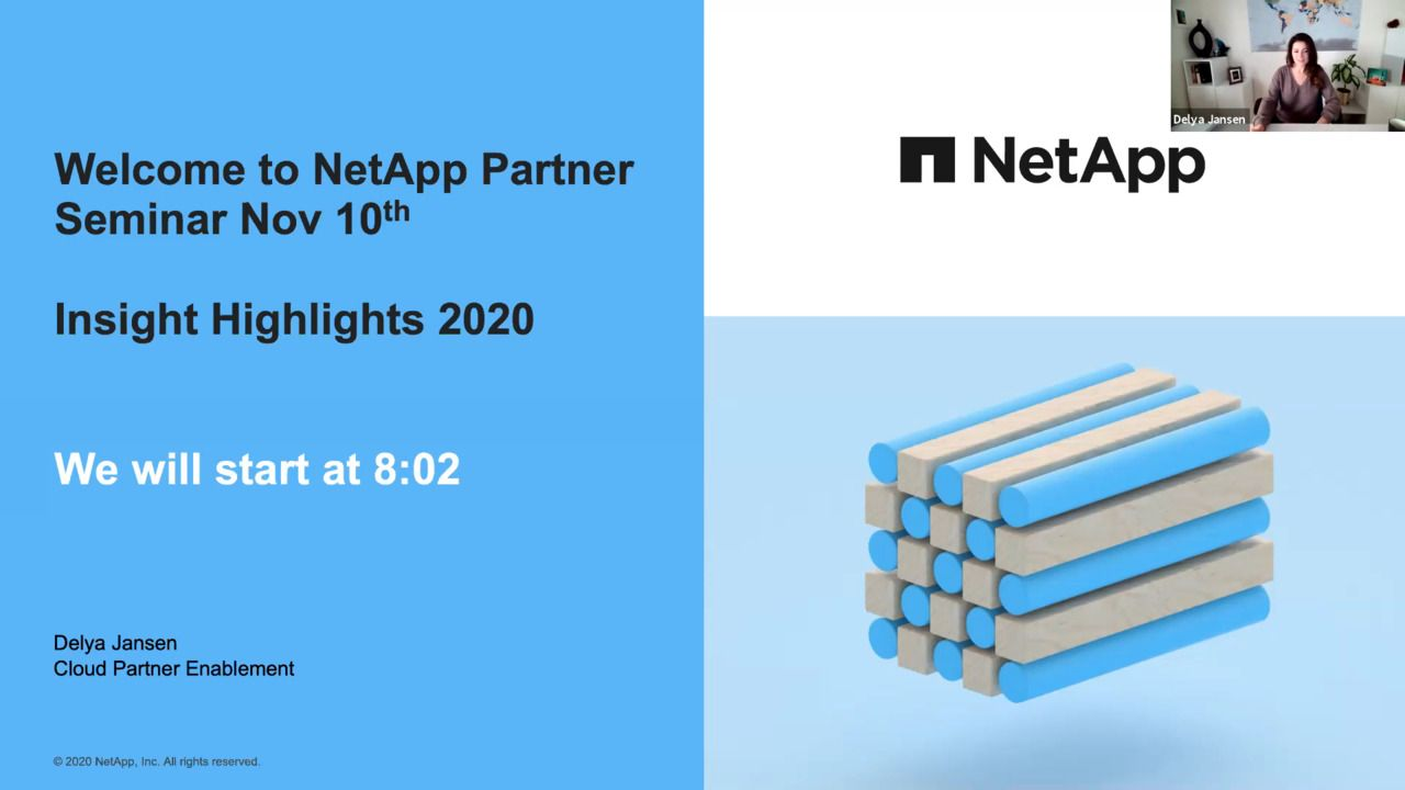 Partner Highlights from NetApp INSIGHT 2020 Digital Event