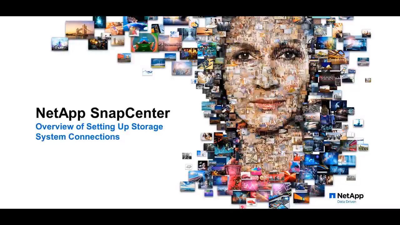 Setting Up Storage System Connections in SnapCenter