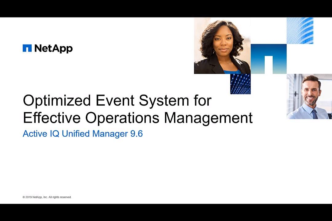 Optimized Event System for Effective Operations Management