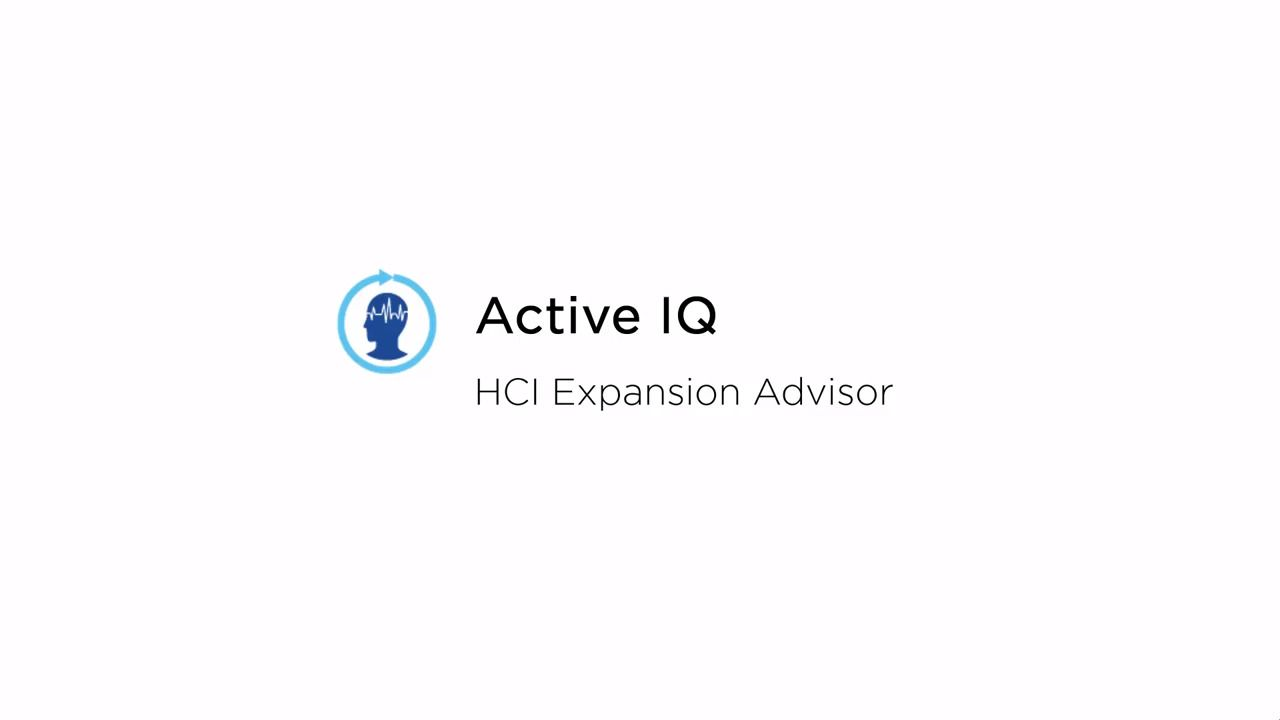 Performing an HCI Sizing Assessment Using NetApp Active IQ Expansion Advisor