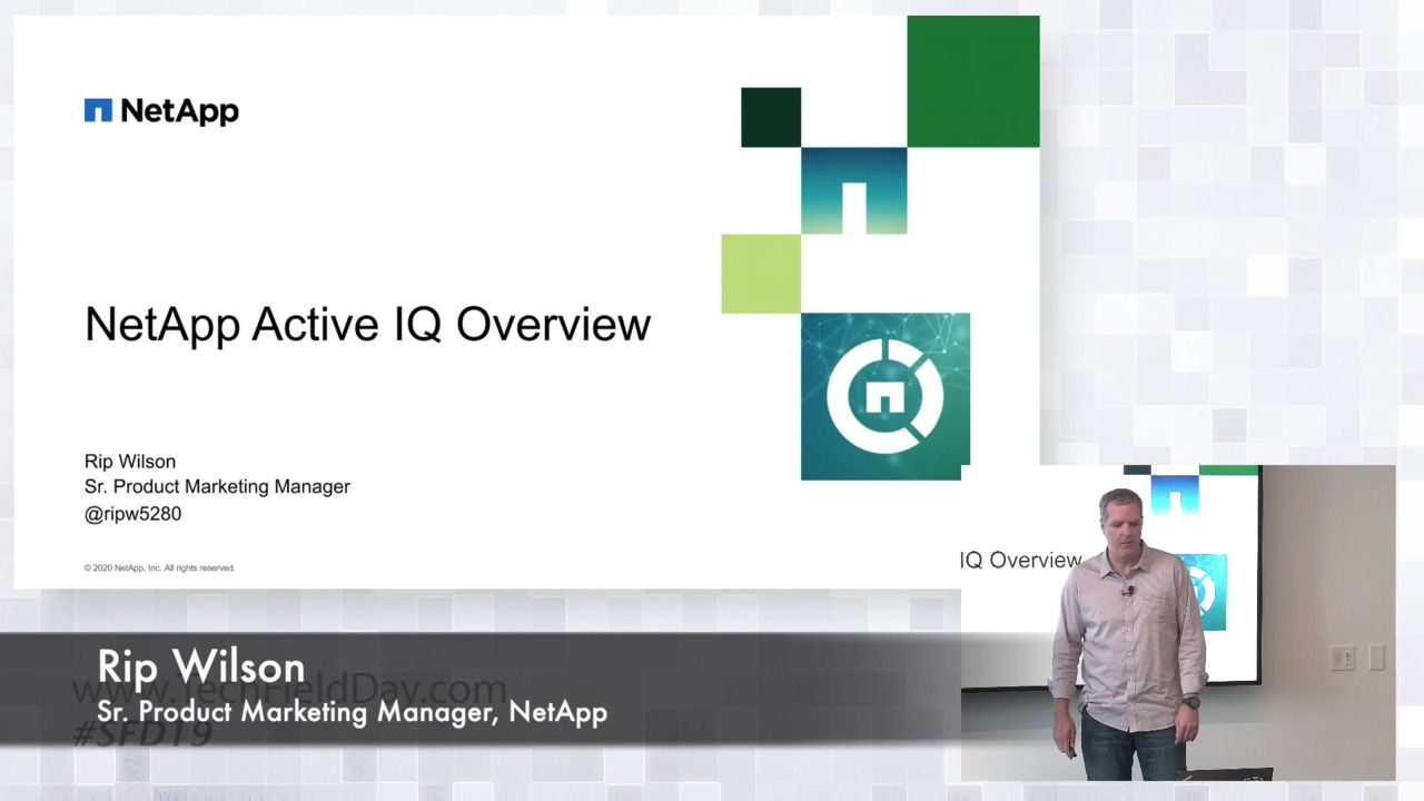 Introduction to NetApp Active IQ