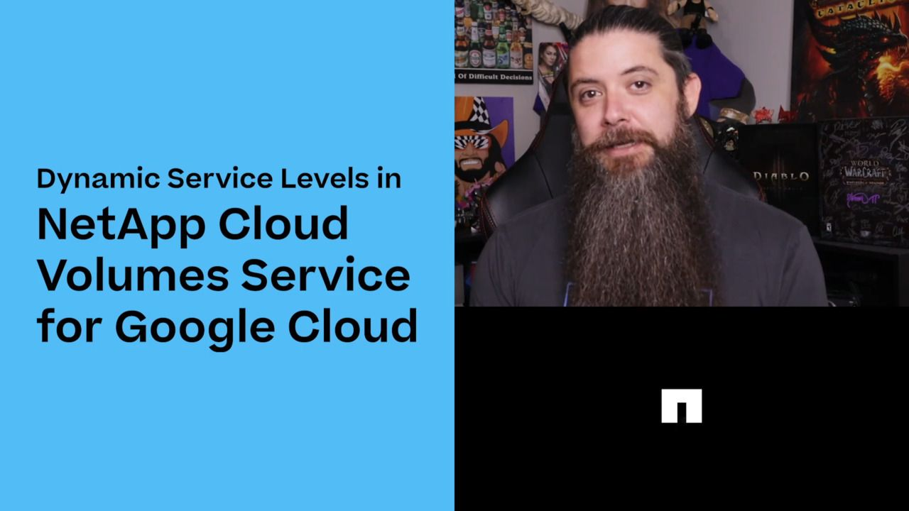 Dynamic Service Levels in NetApp Cloud Volumes Service for Google Cloud