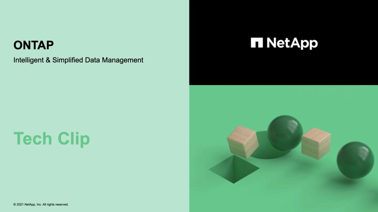 Intelligent and Simplified Data Management