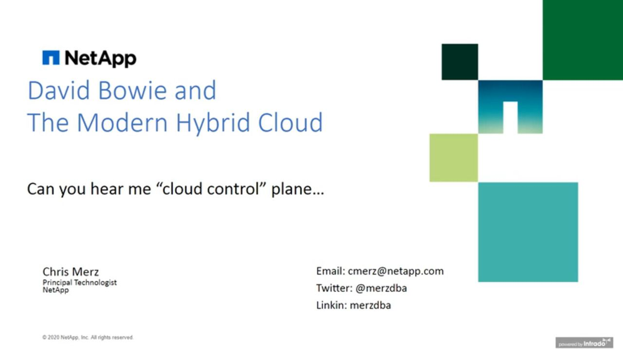 David Bowie and the Modern Hybrid Cloud