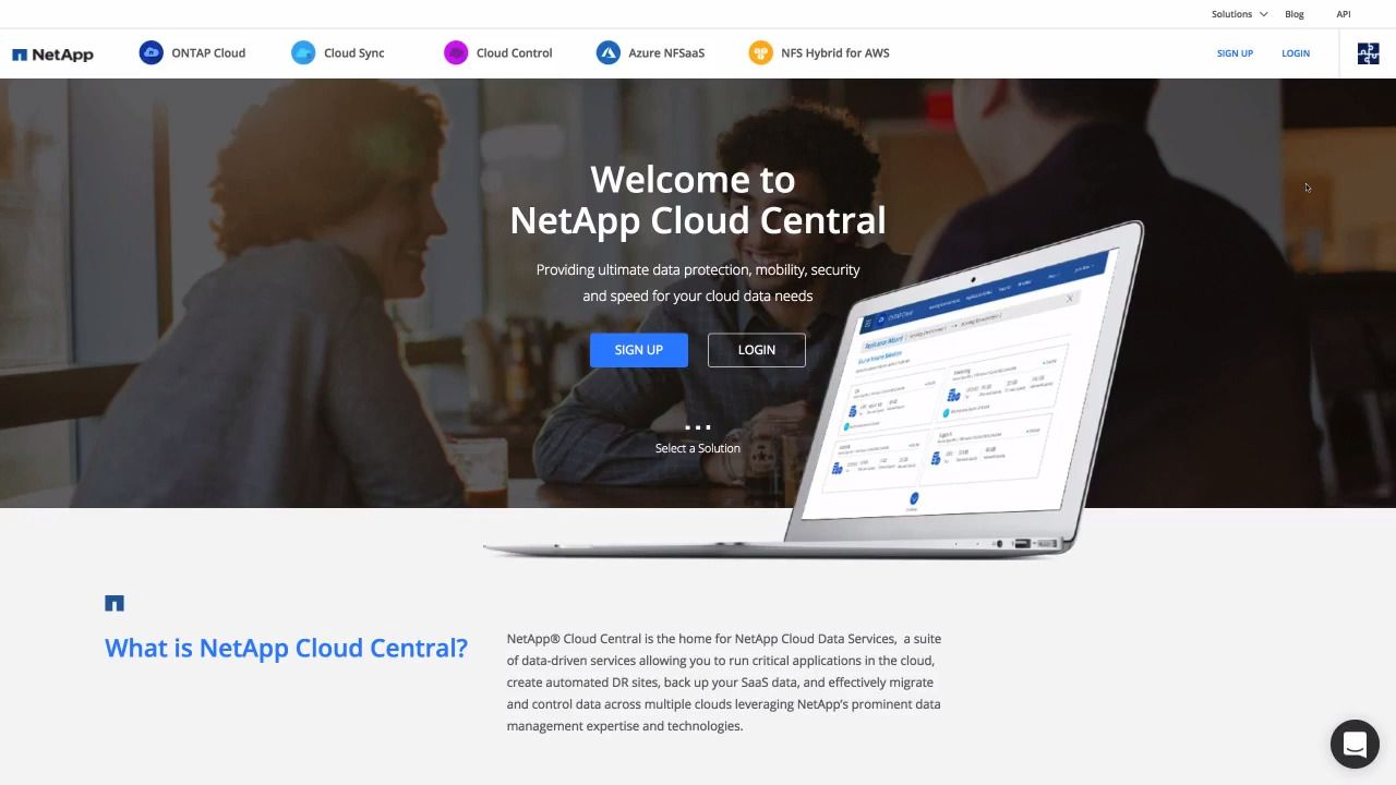 NetApp Cloud Central Overview