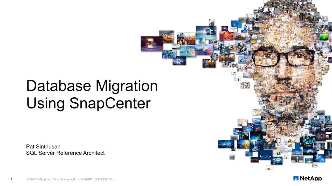 Database Migration Using SnapCenter