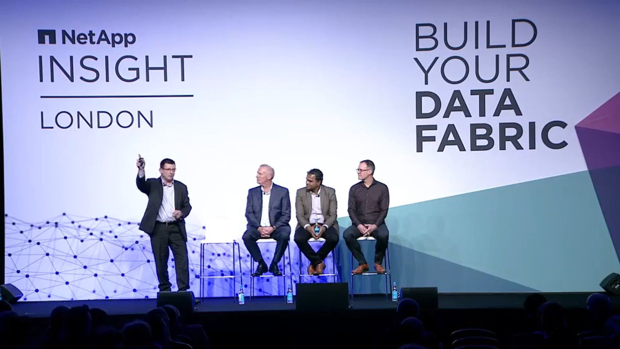 NetApp INSIGHT London - Level Up - The Power of DevOps
