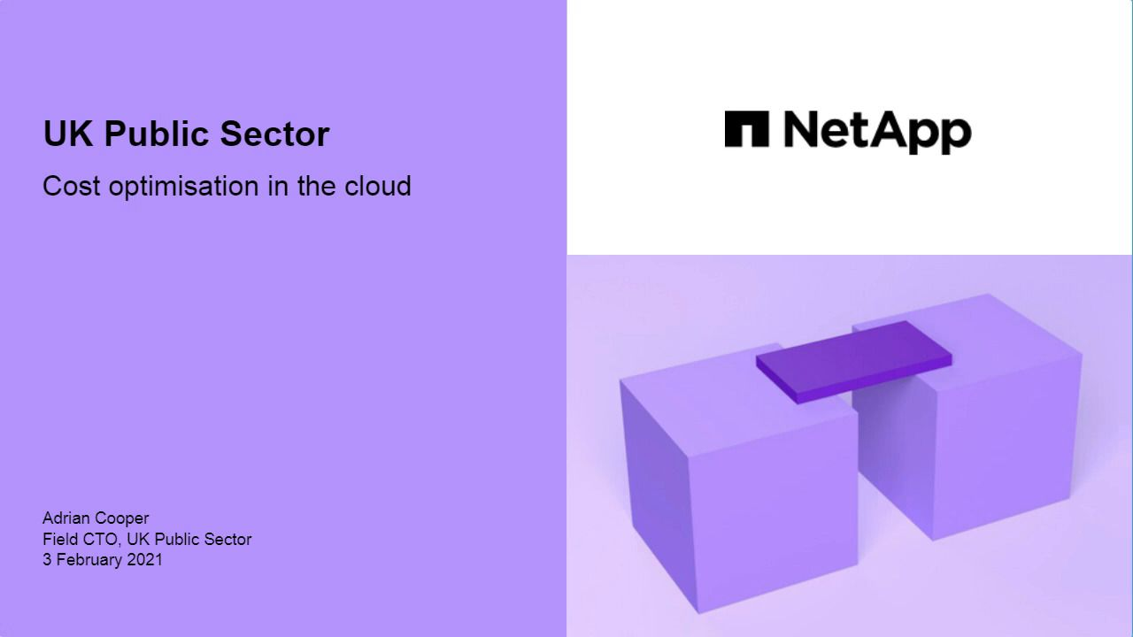Cost Optimization in the Cloud