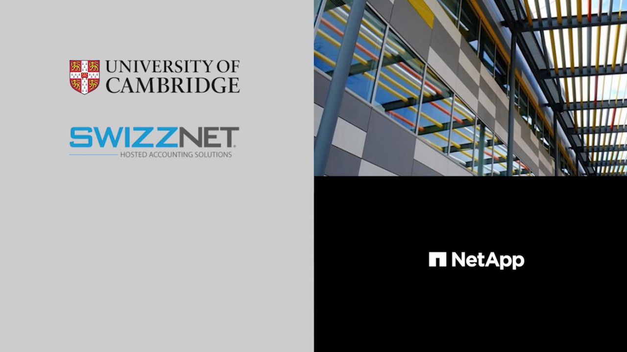 University of Cambridge and Swizznet - Customer Chronicles